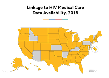 Linkage to Care Map, 2018